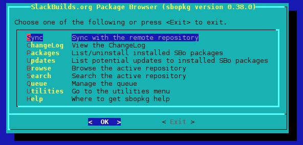 howtos:slackware_admin:building_packages_with_sbopkg - SlackDocs