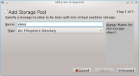 virt-manager Add Storage Pool